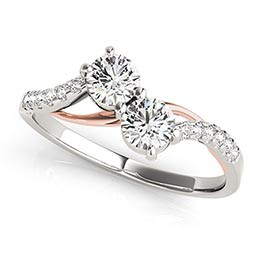 Two Stone Engagement Rings