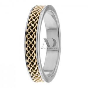 Carla Celtic Wedding Rings 4.50mm