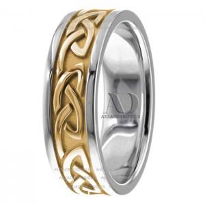 Bernard Celtic Wedding Ring 7.00mm