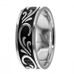 Annette Celtic Wave Wedding Ring 7.50mm