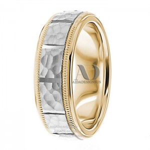 Natasha 7mm Wide Designer Wedding Ring