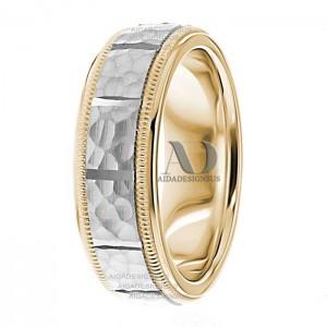 Natasha 7mm Wide Designer Wedding Ring